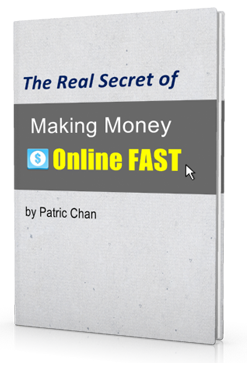 real secret to making money online fast